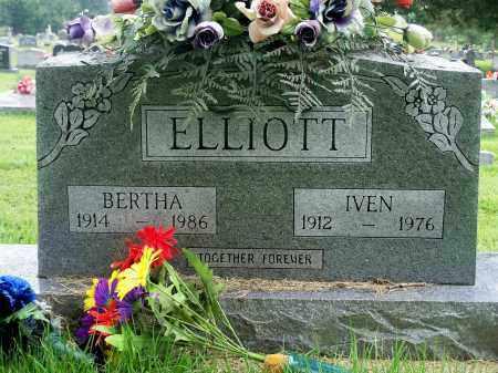 ELLIOTT, IVEN - Fulton County, Arkansas | IVEN ELLIOTT - Arkansas Gravestone Photos