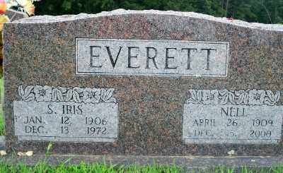 CLAYTON EVERETT, NELL - Fulton County, Arkansas | NELL CLAYTON EVERETT - Arkansas Gravestone Photos