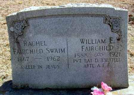 FAIRCHILD, RACHEL - Fulton County, Arkansas   RACHEL FAIRCHILD - Arkansas Gravestone Photos