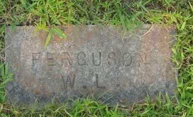 FERGUSON, W. L. - Fulton County, Arkansas   W. L. FERGUSON - Arkansas Gravestone Photos