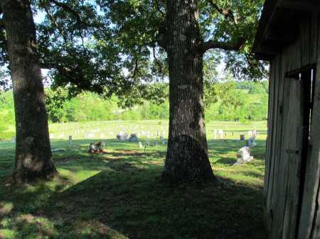 *FIELD CREEK CEMETERY VIEW,  - Fulton County, Arkansas |  *FIELD CREEK CEMETERY VIEW - Arkansas Gravestone Photos