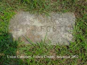 FOSTER, ALICE - Fulton County, Arkansas | ALICE FOSTER - Arkansas Gravestone Photos