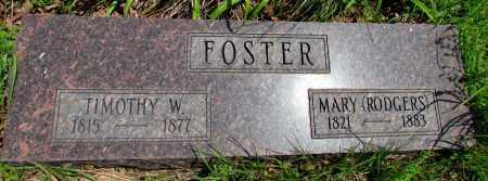 FOSTER, TIMOTHY W - Fulton County, Arkansas | TIMOTHY W FOSTER - Arkansas Gravestone Photos