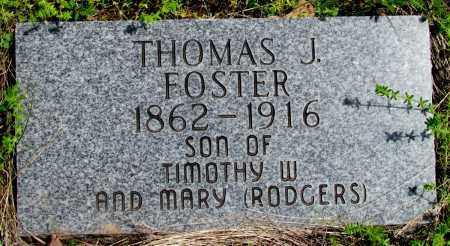 FOSTER, THOMAS J - Fulton County, Arkansas | THOMAS J FOSTER - Arkansas Gravestone Photos