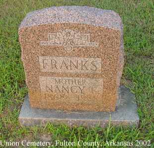 HARGIS FRANKS, NANCY EVELINE - Fulton County, Arkansas   NANCY EVELINE HARGIS FRANKS - Arkansas Gravestone Photos
