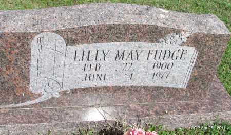 FUDGE, LILLY MAY - Fulton County, Arkansas   LILLY MAY FUDGE - Arkansas Gravestone Photos