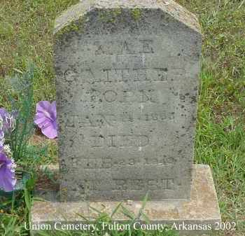 GAITHER, MAE - Fulton County, Arkansas | MAE GAITHER - Arkansas Gravestone Photos
