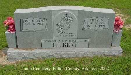 GILBERT, RILEY WASHINGTON - Fulton County, Arkansas | RILEY WASHINGTON GILBERT - Arkansas Gravestone Photos