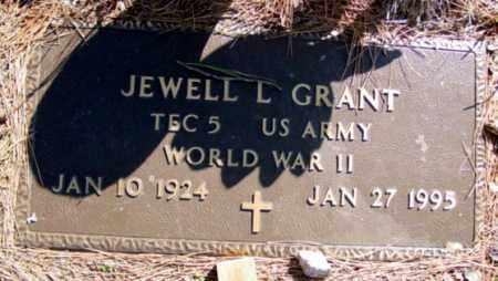 GRANT (VETERAN WWII), JEWELL L - Fulton County, Arkansas | JEWELL L GRANT (VETERAN WWII) - Arkansas Gravestone Photos