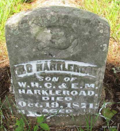 HARKLEROAD, H G - Fulton County, Arkansas | H G HARKLEROAD - Arkansas Gravestone Photos