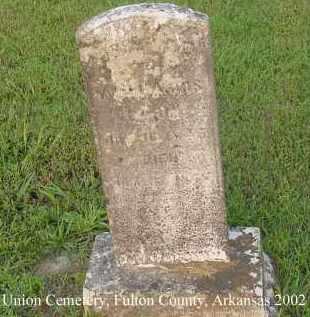 HARRIS, REBECCA E. - Fulton County, Arkansas   REBECCA E. HARRIS - Arkansas Gravestone Photos