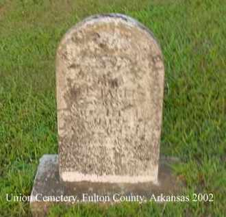 HARRIS, W. J. - Fulton County, Arkansas   W. J. HARRIS - Arkansas Gravestone Photos