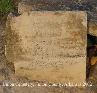HAWKINS, _____ L. - Fulton County, Arkansas | _____ L. HAWKINS - Arkansas Gravestone Photos