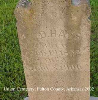 HAYS, EDMOND DEVERIX - Fulton County, Arkansas   EDMOND DEVERIX HAYS - Arkansas Gravestone Photos