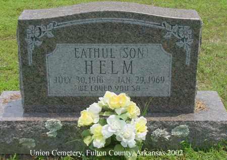 HELM, EATHUL - Fulton County, Arkansas | EATHUL HELM - Arkansas Gravestone Photos