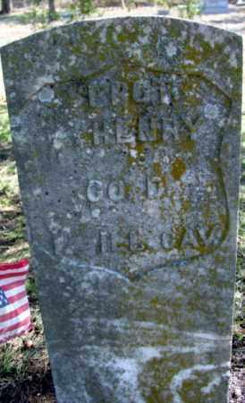 HENRY (VETERAN UNION), HENRY A - Fulton County, Arkansas | HENRY A HENRY (VETERAN UNION) - Arkansas Gravestone Photos