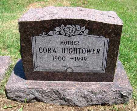BAILEY HIGHTOWER, CORA ALICE - Fulton County, Arkansas | CORA ALICE BAILEY HIGHTOWER - Arkansas Gravestone Photos