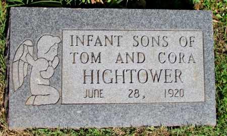 HIGHTOWER, INFANT SONS - Fulton County, Arkansas   INFANT SONS HIGHTOWER - Arkansas Gravestone Photos