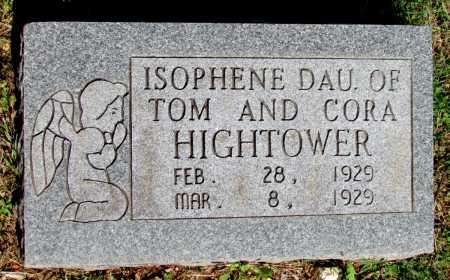 HIGHTOWER, ISOPHENE - Fulton County, Arkansas | ISOPHENE HIGHTOWER - Arkansas Gravestone Photos