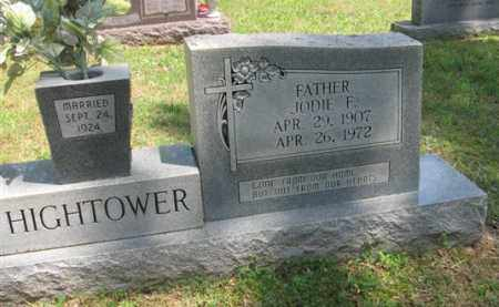 HIGHTOWER, JODIE F. - Fulton County, Arkansas | JODIE F. HIGHTOWER - Arkansas Gravestone Photos