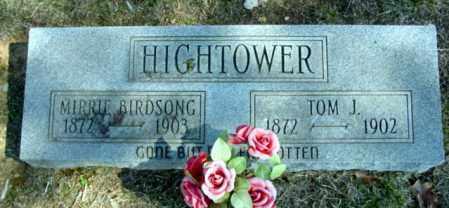 HIGHTOWER, THOMAS J - Fulton County, Arkansas | THOMAS J HIGHTOWER - Arkansas Gravestone Photos