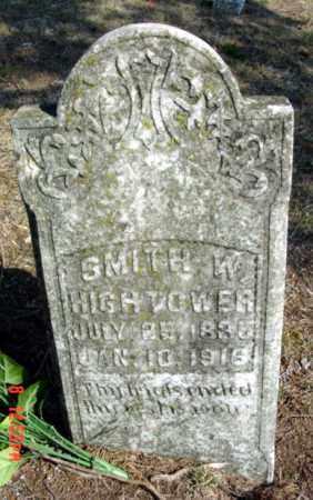 HIGHTOWER, SMITH WASHINGTON - Fulton County, Arkansas   SMITH WASHINGTON HIGHTOWER - Arkansas Gravestone Photos
