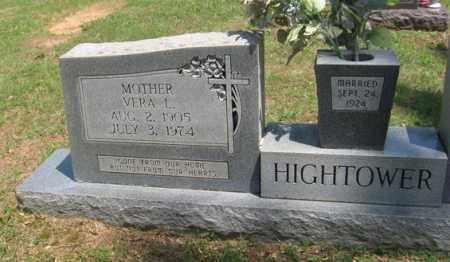 MARTIN HIGHTOWER, VERA LOU - Fulton County, Arkansas   VERA LOU MARTIN HIGHTOWER - Arkansas Gravestone Photos