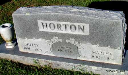 HORTON, MARTHA - Fulton County, Arkansas   MARTHA HORTON - Arkansas Gravestone Photos
