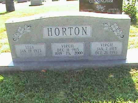 HORTON, LELA - Fulton County, Arkansas | LELA HORTON - Arkansas Gravestone Photos