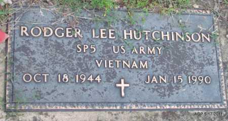HUTCHINSON (VETERAN VIET), RODGER LEE - Fulton County, Arkansas | RODGER LEE HUTCHINSON (VETERAN VIET) - Arkansas Gravestone Photos