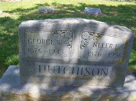 BASSHAM HUTCHISON, NEALER EUDORA - Fulton County, Arkansas | NEALER EUDORA BASSHAM HUTCHISON - Arkansas Gravestone Photos