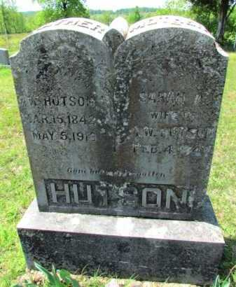 HUTSON (VETERAN CSA), ISAAC W - Fulton County, Arkansas   ISAAC W HUTSON (VETERAN CSA) - Arkansas Gravestone Photos