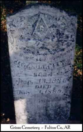 JOHNSON, JAMES ADDISON - Fulton County, Arkansas | JAMES ADDISON JOHNSON - Arkansas Gravestone Photos