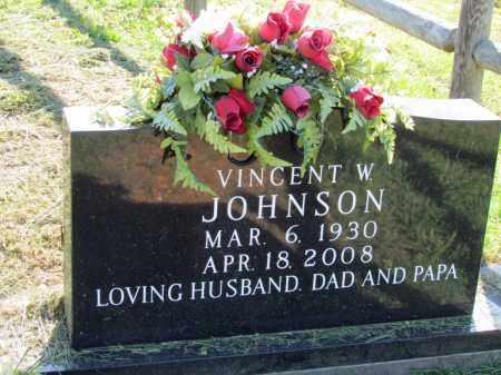 JOHNSON, VINCENT W - Fulton County, Arkansas | VINCENT W JOHNSON - Arkansas Gravestone Photos