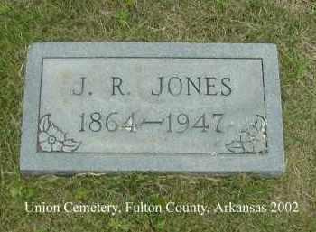 JONES, J. R. - Fulton County, Arkansas | J. R. JONES - Arkansas Gravestone Photos