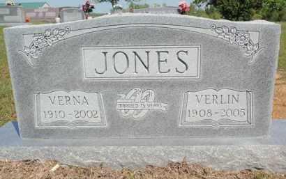 JONES, VERNA - Fulton County, Arkansas | VERNA JONES - Arkansas Gravestone Photos