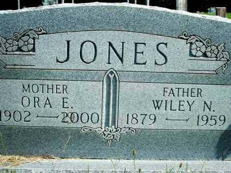 JONES, WILEY N. - Fulton County, Arkansas | WILEY N. JONES - Arkansas Gravestone Photos