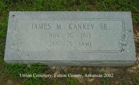 KANKEY, JAMES MONTGOMERY, SR. - Fulton County, Arkansas | JAMES MONTGOMERY, SR. KANKEY - Arkansas Gravestone Photos