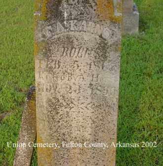 KARNS, F. A. - Fulton County, Arkansas | F. A. KARNS - Arkansas Gravestone Photos