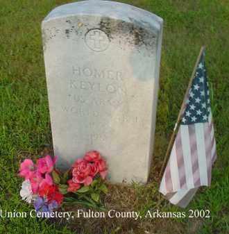 KEYLON  (VETERAN WWI), WALKER HOMER - Fulton County, Arkansas   WALKER HOMER KEYLON  (VETERAN WWI) - Arkansas Gravestone Photos