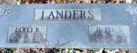 "LANDERS, MARY AZUBAH ""HAZEL"" - Fulton County, Arkansas | MARY AZUBAH ""HAZEL"" LANDERS - Arkansas Gravestone Photos"