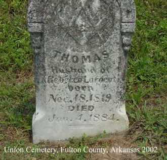LARGENT, THOMAS R. - Fulton County, Arkansas | THOMAS R. LARGENT - Arkansas Gravestone Photos