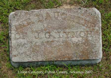 LYNCH, INFANT DAUGHTER - Fulton County, Arkansas | INFANT DAUGHTER LYNCH - Arkansas Gravestone Photos