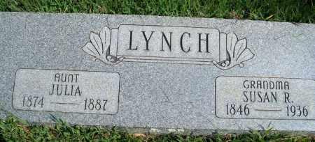 LYNCH, JULIA - Fulton County, Arkansas | JULIA LYNCH - Arkansas Gravestone Photos