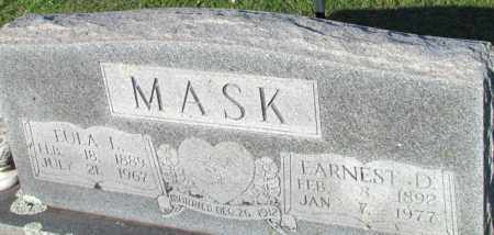 MASK, EULA L - Fulton County, Arkansas | EULA L MASK - Arkansas Gravestone Photos