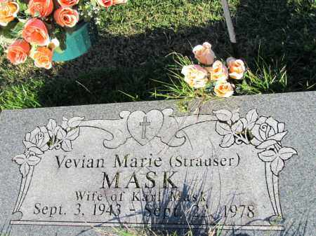 STRAUSER MASK, VEVIAN MARIE - Fulton County, Arkansas | VEVIAN MARIE STRAUSER MASK - Arkansas Gravestone Photos