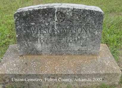 MASON, WILSON - Fulton County, Arkansas   WILSON MASON - Arkansas Gravestone Photos