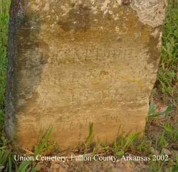 MC LAIN, L. C. - Fulton County, Arkansas | L. C. MC LAIN - Arkansas Gravestone Photos