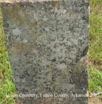 MILLER, JESSE E. - Fulton County, Arkansas   JESSE E. MILLER - Arkansas Gravestone Photos
