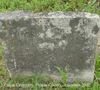 MILLER, MARY C. - Fulton County, Arkansas | MARY C. MILLER - Arkansas Gravestone Photos